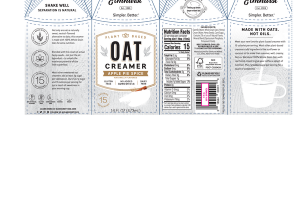 APPLE PIE SPICE FLAVORED OAT CREAMER