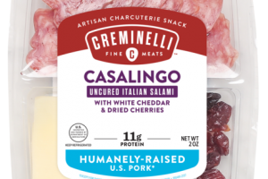 CASALINGO UNCURED ITALIAN SALAMI WITH WHITE CHEDDAR & DRIED CHERRIES