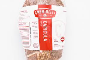 CREMINELLI ARTISAN DELI COOKED CAPICOLA
