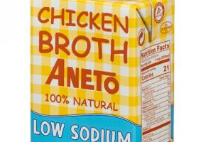 LOW SODIUM CHICKEN BROTH