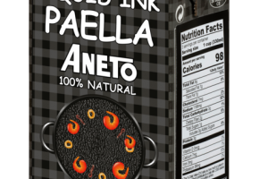 100% NATURAL COOKING BASE FOR SQUID INK PAELLA