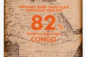 82% CONGO ORGANIC DARK CHOCOLATE