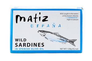 WILD SARDINES IN SPANISH OLIVE OIL