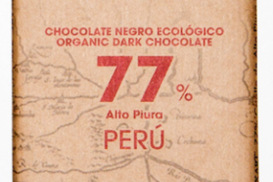ORGANIC 77% PERU DARK CHOCOLATE