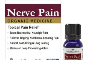 ORGANIC MEDICINE NERVE TOPICAL PAIN RELIEF COFFEA CRUDA