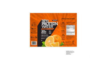 ORANGE PROTEIN ENERGY WATER