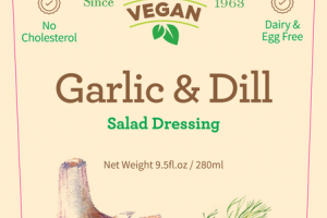 GARLIC & DILL SALAD DRESSING