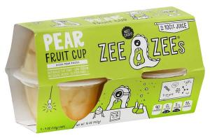 DICED PEAR PIECES FRUIT CUP IN 100% JUICE