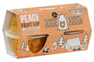 PEACH FRUIT CUP YELLOW CLING PEACHES