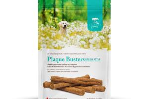 PLAQUE BUSTERS BACON STYLE ALL NATURAL DOG TREATS