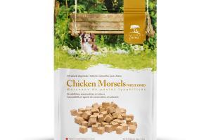 CHICKEN MORSELS FREEZE DRIED ALL NATURAL DOG TREATS