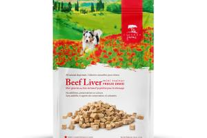 BEEF LIVER MINI TRAINER FREEZE DRIED ALL NATURAL DOG TREATS