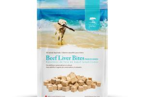 BEEF LIVER BITES FREEZE DRIED DOG TREATS