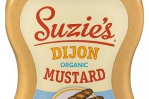 DIJON...BUT OF COURSE ORGANIC DIJON MUSTARD