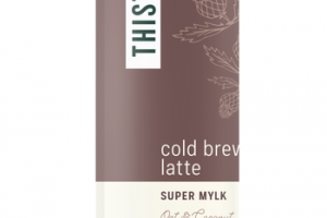 COLD BREW LATTE OAT & COCONUT + REISHI SUPER MYLK