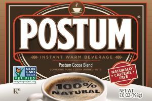 100% NATURAL POSTUM COCOA BLEND INSTANT WARM BEVERAGE