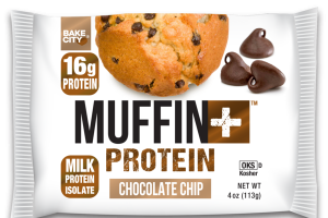 CHOCOLATE CHIP FLAVORED PROTEIN MUFFIN