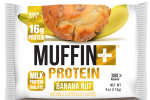 BANANA NUT FLAVORED MUFFIN