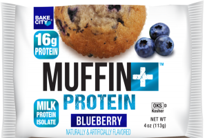 BLUEBERRY FLAVORED MUFFIN + PROTEIN