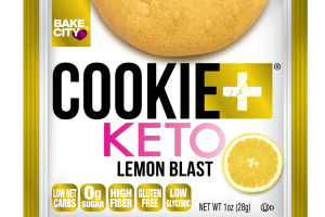 LEMON BLAST COOKIE + KETO