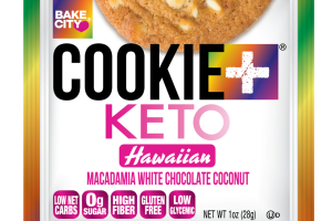 HAWAIIAN MACADAMIA WHITE CHOCOLATE COCONUT KETO COOKIE
