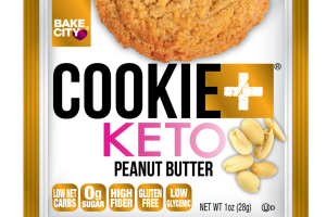 PEANUT BUTTER COOKIE + KETO