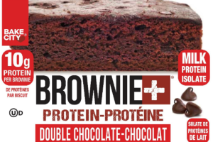 DOUBLE CHOCOLATE BROWNIE+PROTEIN