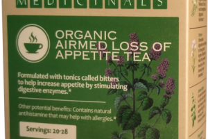 ORGANIC AIRMED LOSS OF APPETITE TEA HERBAL SUPPLEMENT
