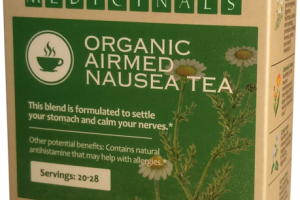 ORGANIC AIRMED NAUSEA TEA HERBAL SUPPLEMENT
