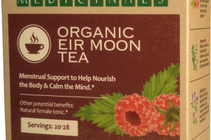 MENSTRUAL SUPPORT TO HELP NOURISH THE BODY & CALM THE MIND HERBAL SUPPLEMENT