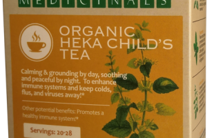 ORGANIC HEKA CHILD'S TEA HERBAL SUPPLEMENT