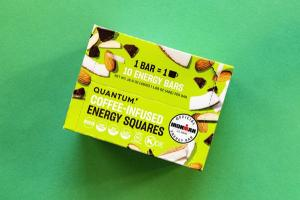 COCONUT ALMOND CHIP COFFEE-INFUSED ENERGY SQUARES BARS