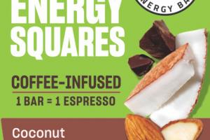 COCONUT ALMOND CHIP ENERGY SQUARES