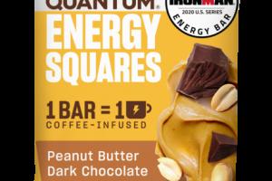 PEANUT BUTTER DARK CHOCOLATE ENERGY SQUARES BAR