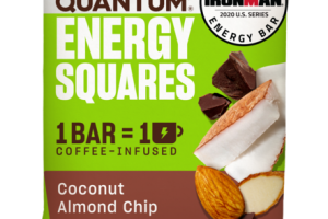 COCONUT ALMOND CHIP ENERGY SQUARES BAR