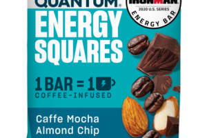 CAFFE MOCHA ALMOND CHIP ENERGY SQUARES BAR