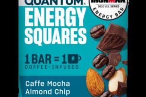 CAFFE MOCHA ALMOND CHIP ENERGY SQUARES BAR