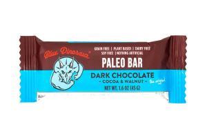 COCOA &WALNUT DARK CHOCOLATE PALEO BAR