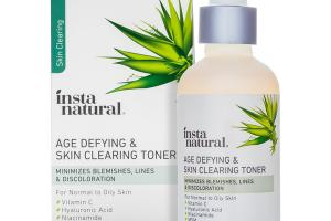 SKIN CLEARING AGE DEFYING & SKIN CLEARING TONER