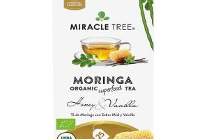 HONEY & VANILLA MORINGA ORGANIC SUPERFOOD TEA BAGS