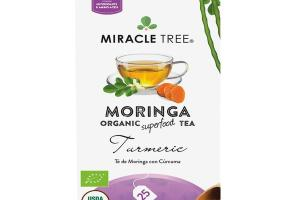 TURMERIC MORINGA ORGANIC SUPERFOOD TEA BAGS