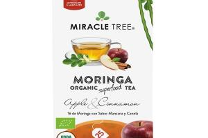 APPLE & CINNAMON MORINGA ORGANIC SUPERFOOD TEA
