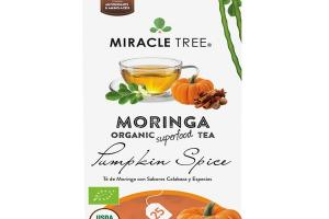 PUMPKIN SPICE MORINGA ORGANIC SUPERFOOD TEA BAGS