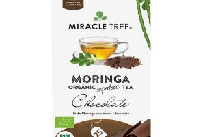 CHOCOLATE MORINGA ORGANIC SUPERFOOD TEA BAGS
