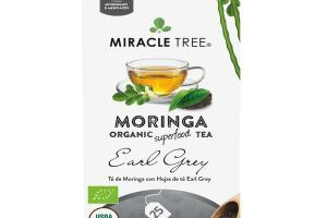 EARL GREY MORINGA ORGANIC SUPERFOOD TEA BAGS
