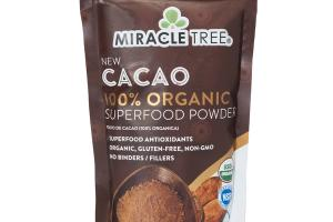 CACAO 100% ORGANIC SUPERFOOD POWDER