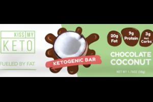 CHOCOLATE COCONUT KETOGENIC BAR