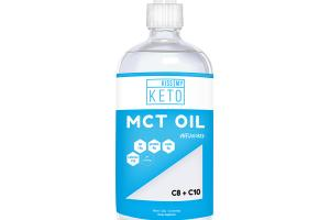 MCT OIL C8 + C10 DIETARY SUPPLEMENT, UNFLAVORED