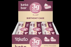 KETO BAR BIRTHDAY CAKE