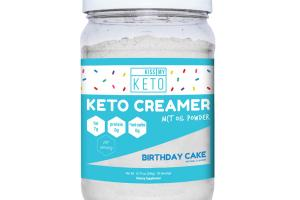 BIRTHDAY CAKE KETO CREAMER MCT OIL POWDER DIETARY SUPPLEMENT